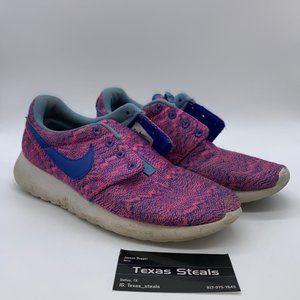 Youth Nike Roshe Run Pink Print